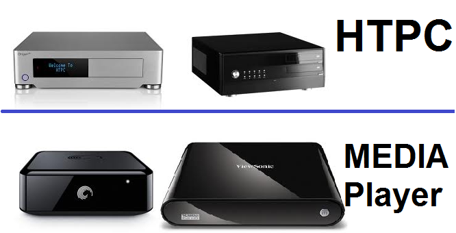 HTPC vs HD Media Player