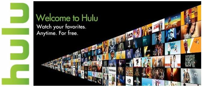Hulu screen example