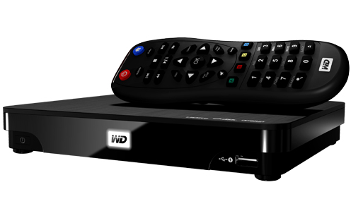 wd tv hub live with remote